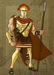 King Leonidas in Color