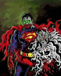 Zombie Superman by GavinMichelli