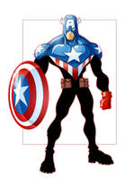 Captain America by GavinMichelli