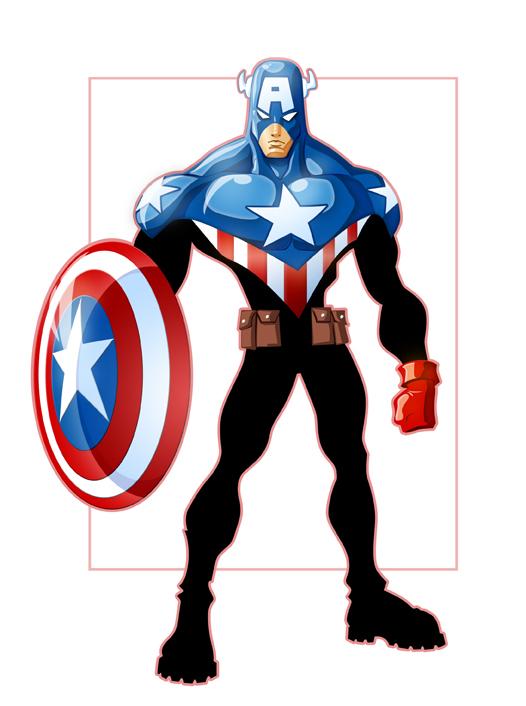 Captain America by GavinMichelli