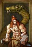 Thor vs. the Midgard Serpent