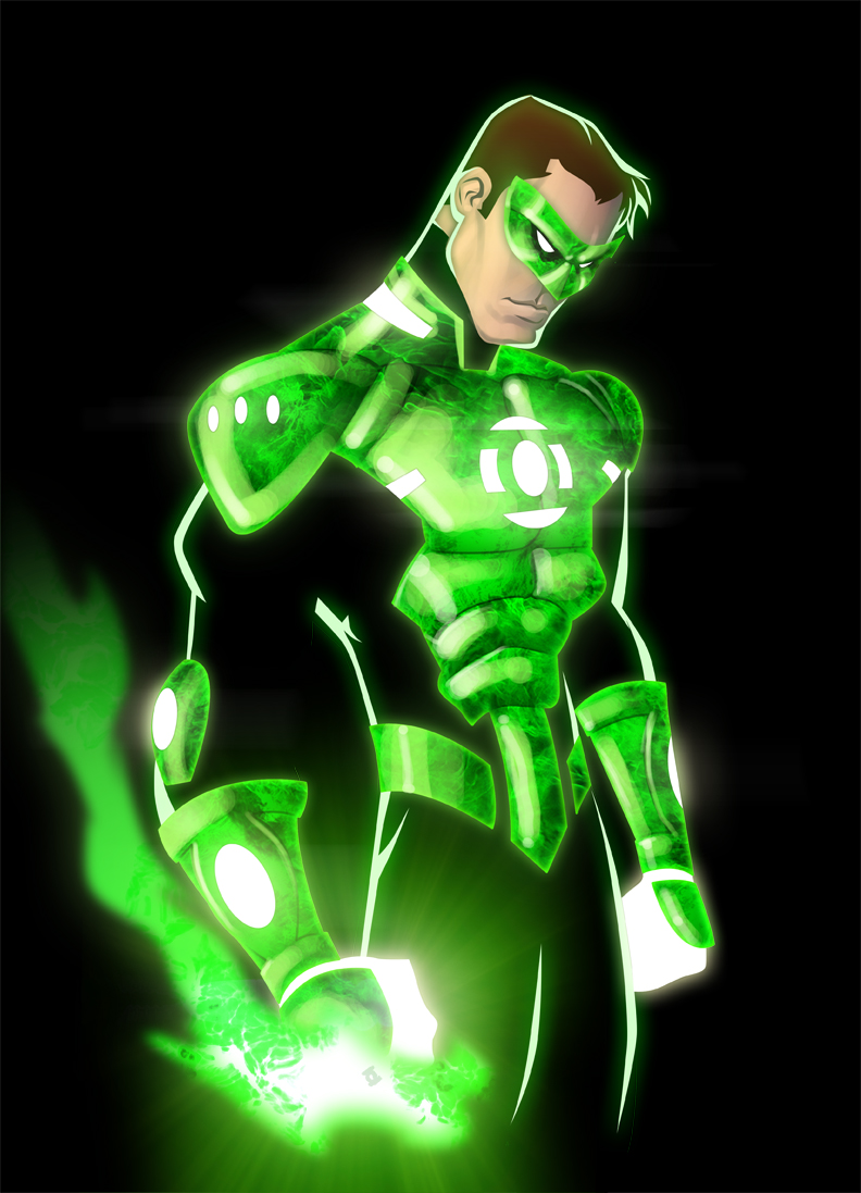 Comics Forever, Hal Jordan as Green lantern // pencils ...