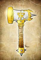 War Hammer by GavinMichelli