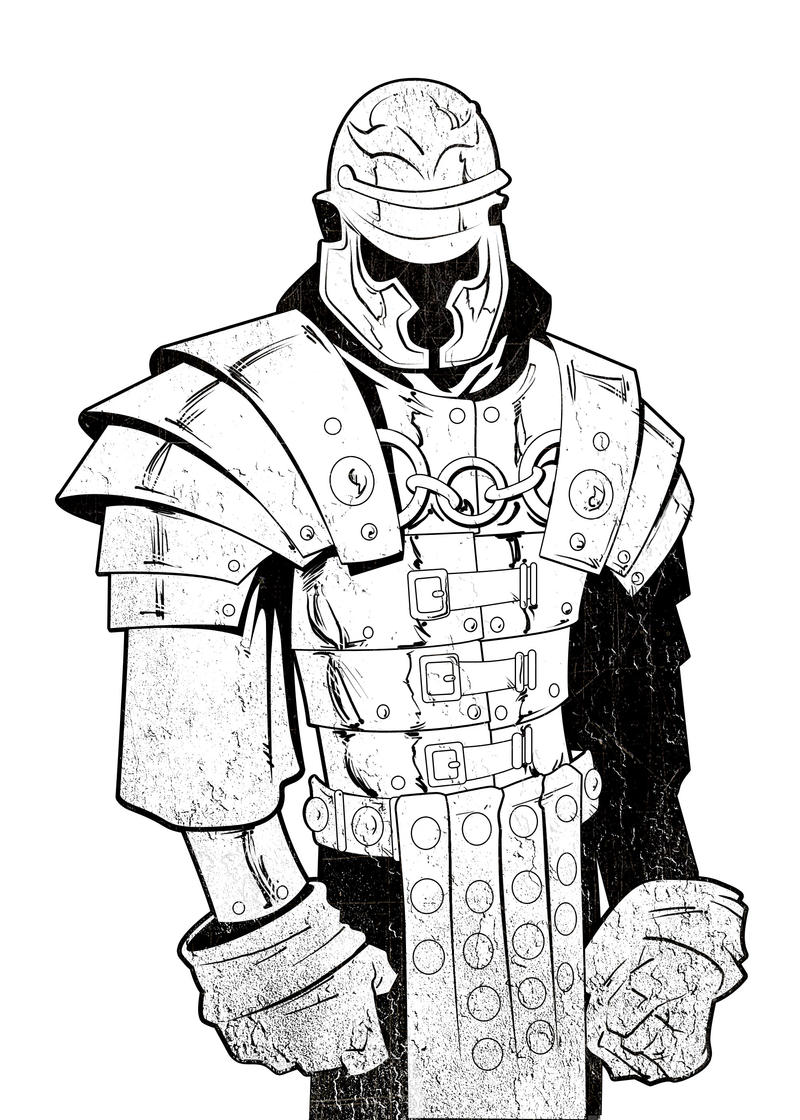 Roman Soldier Inked by GavinMichelli on DeviantArt