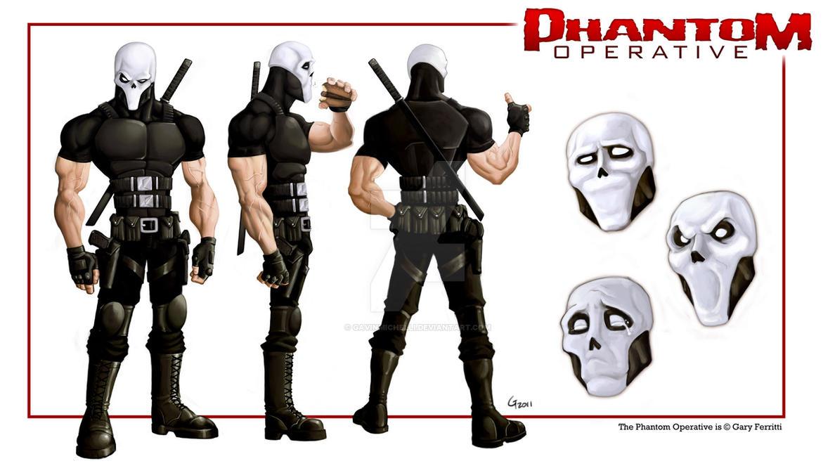 The Phantom Operative by GavinMichelli