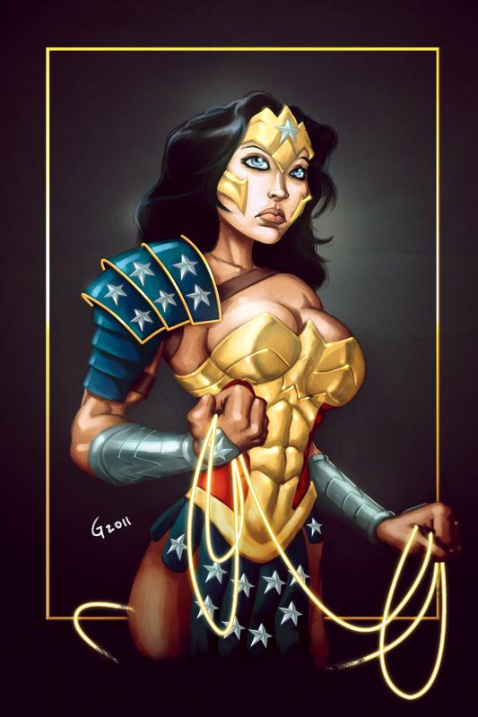 Wonder Woman by GavinMichelli