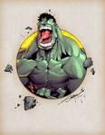 Hulk by Steven Sanchez