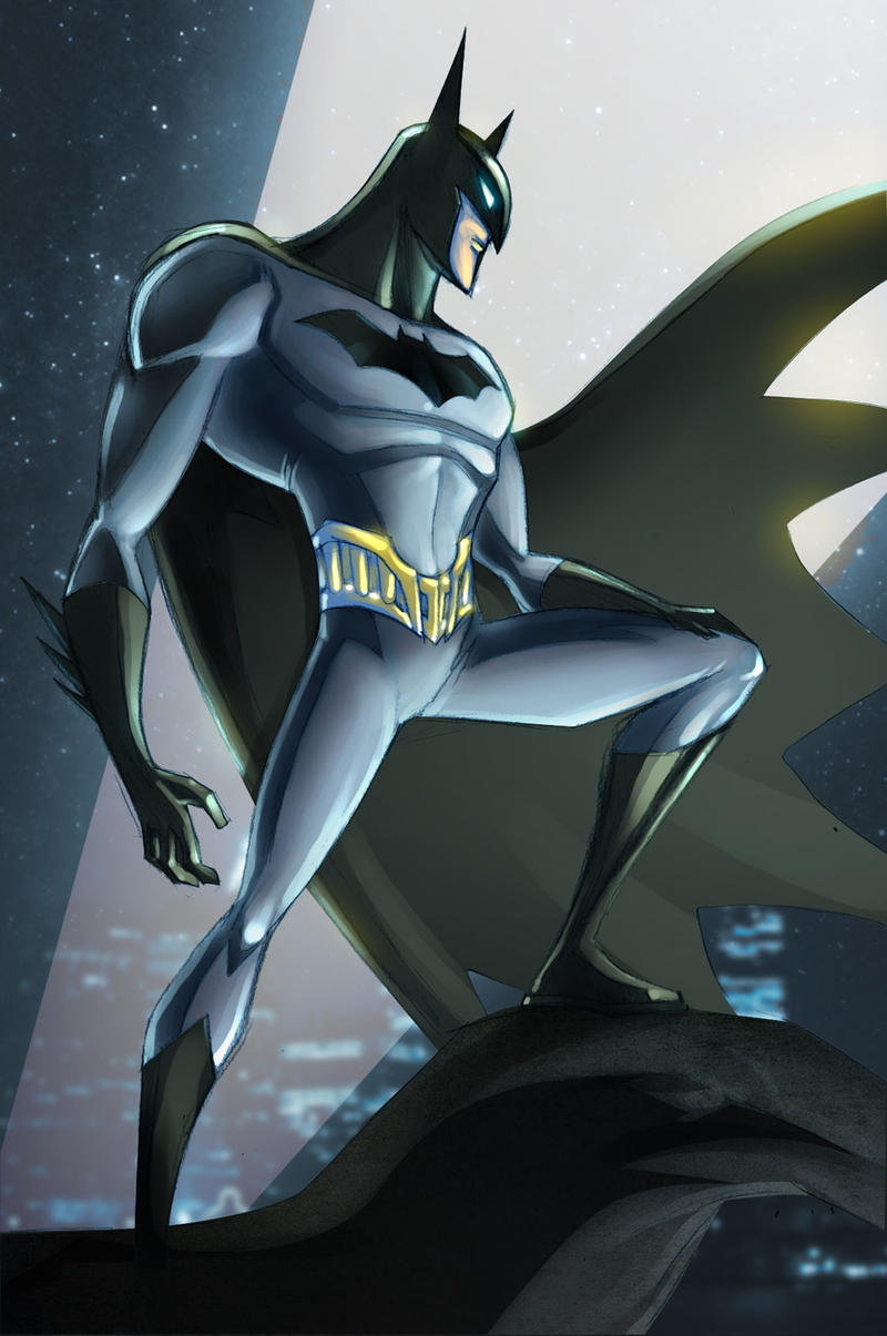 Batman by Luciano Vecchio by GavinMichelli
