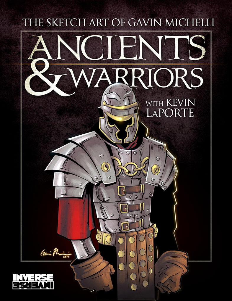 Ancients and Warriors cover redux by GavinMichelli
