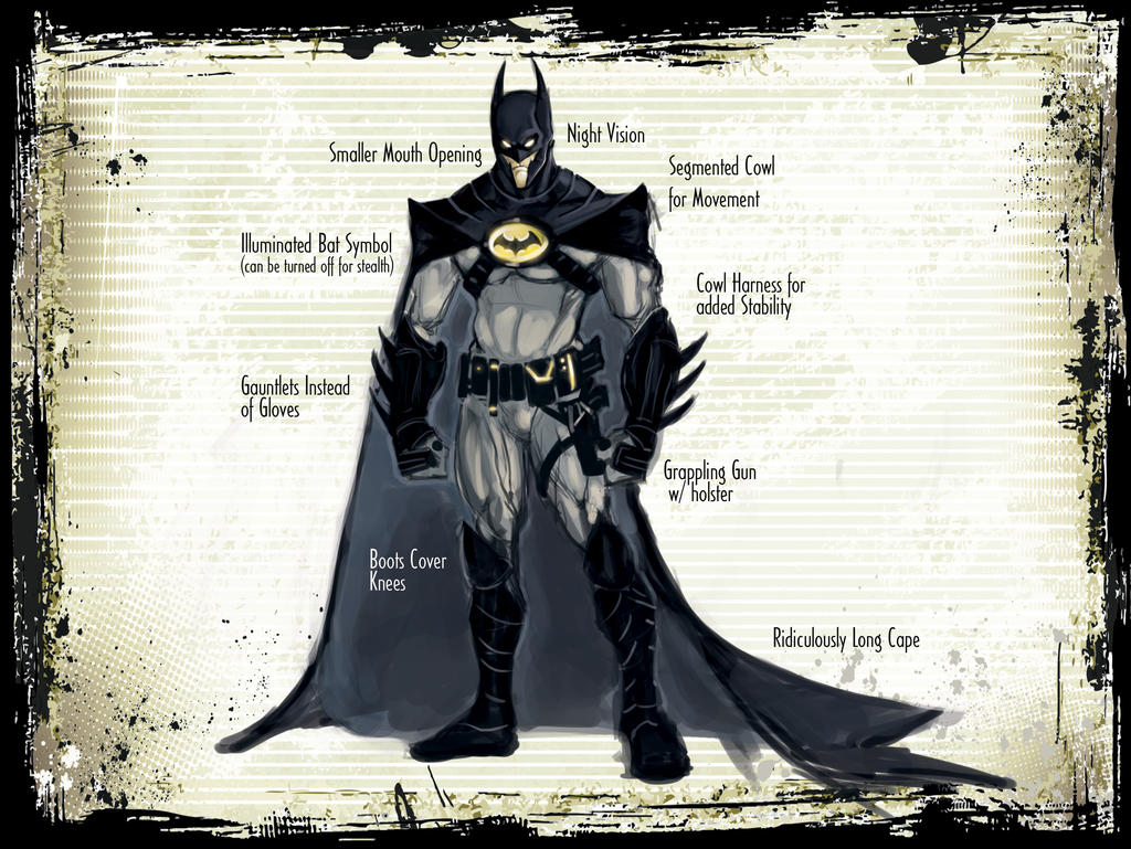 Batman Concept by GavinMichelli