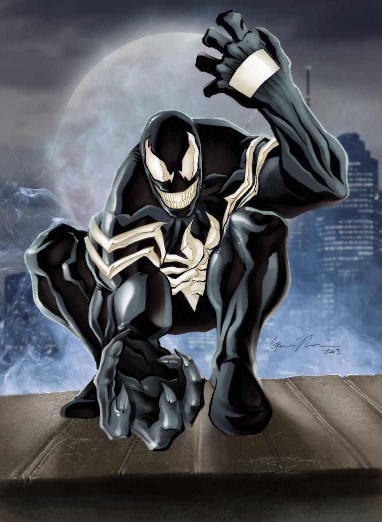 Venom Color by GavinMichelli