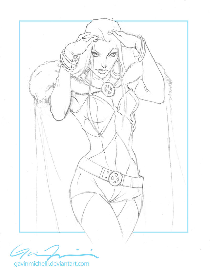 White Queen Commission WIP by GavinMichelli