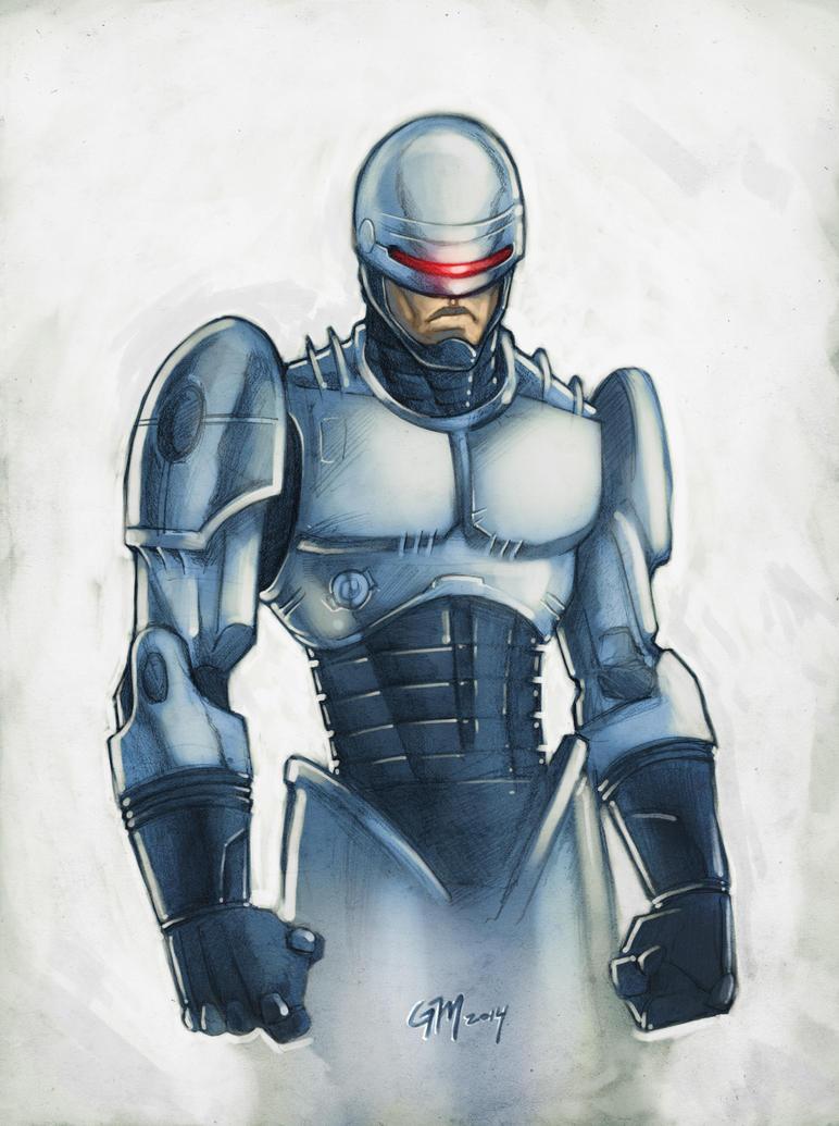 Robocop by GavinMichelli