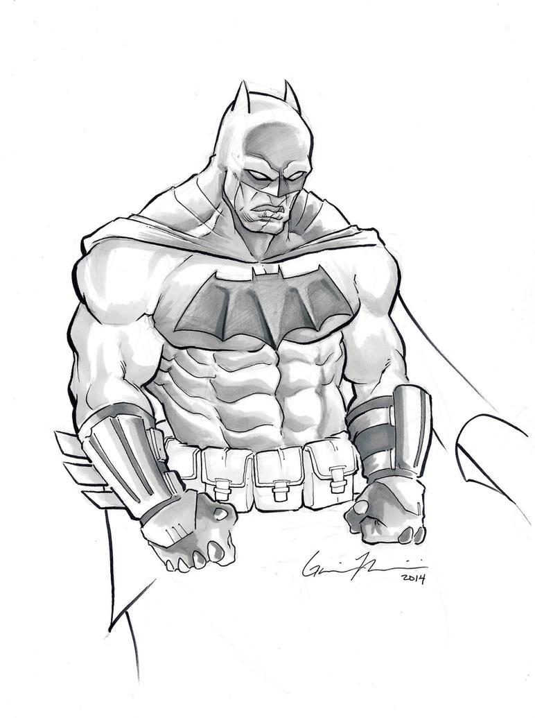 The Dark Knight Returns by GavinMichelli
