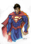 New 52 Superman in color