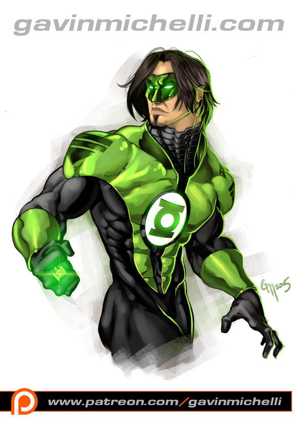 Kyle Raynor Green Lantern by GavinMichelli