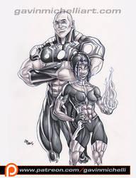 Power Couple Marker Piece by GavinMichelli