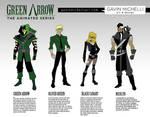 Green Arrow Animated Designs
