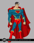 Animated Superman Design
