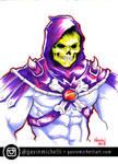 Skeletor Marker Drawing