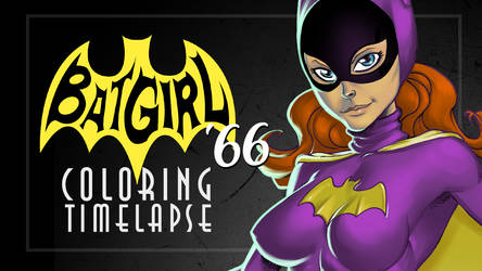 Batgirl '66 Process Video on Youtube by GavinMichelli