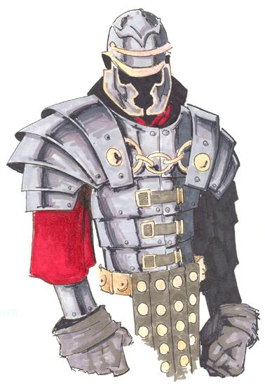 Concept Art: Roman Soldier by GavinMichelli