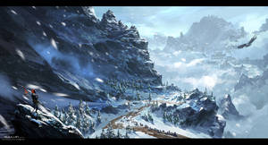 snow by gliulian