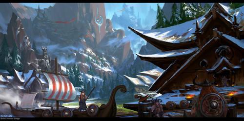 The Vikings by gliulian