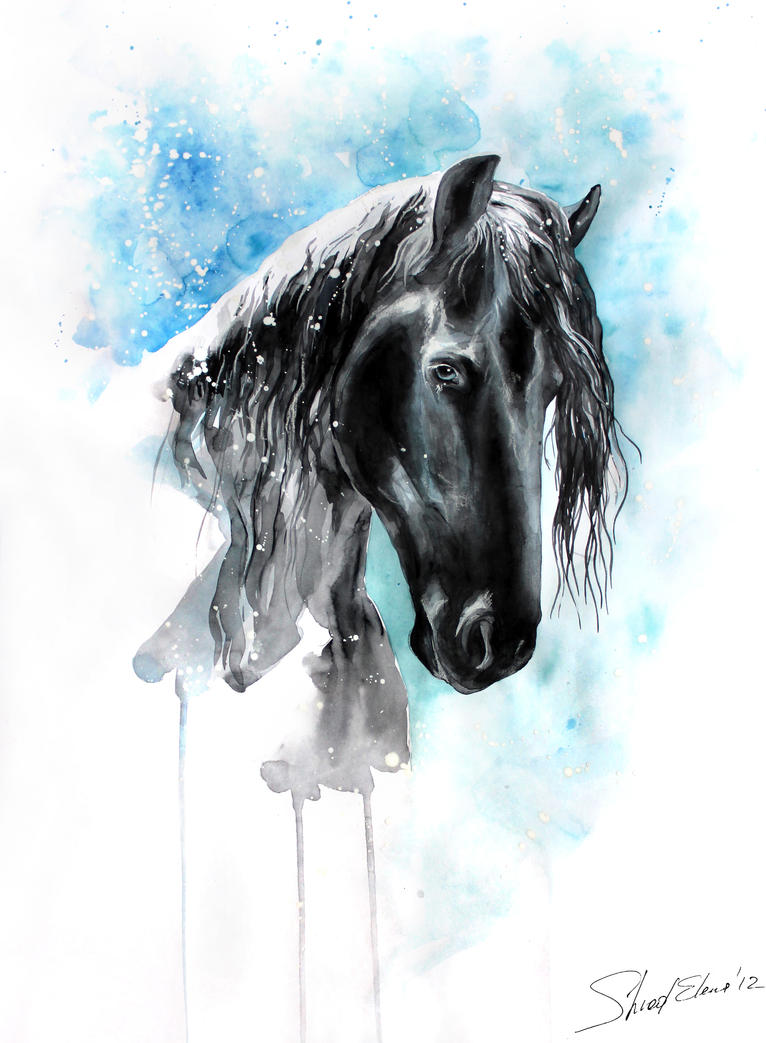 Blue Eyes by ElenaShved