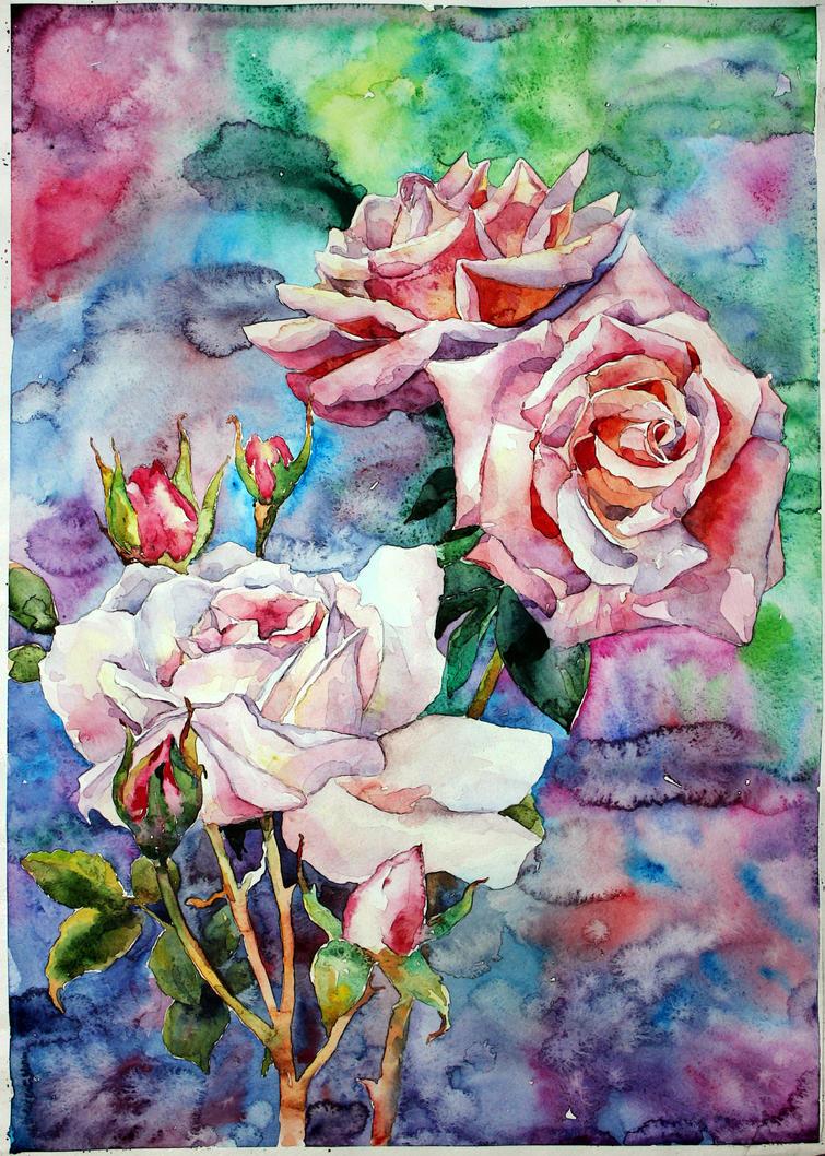 rose by ElenaShved