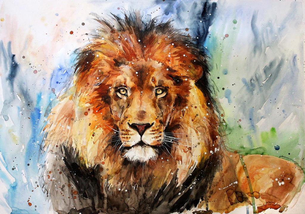 lion by ElenaShved