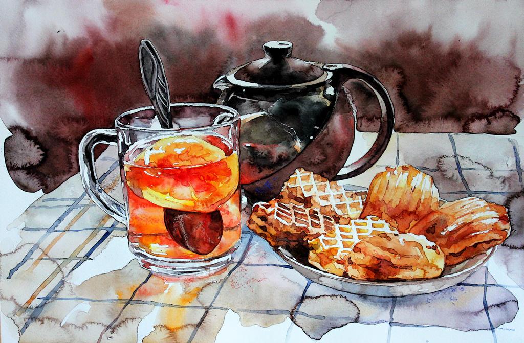 breakfast by ElenaShved
