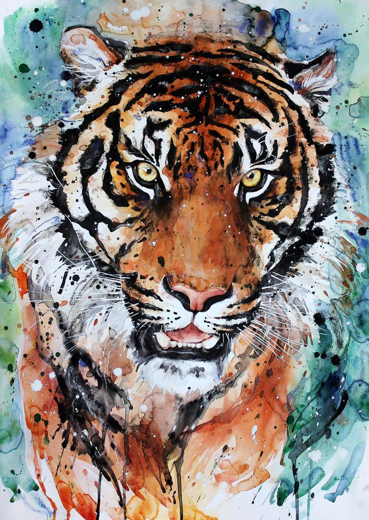 tiger3 by ElenaShved