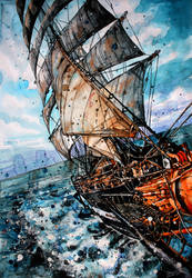 ship by ElenaShved