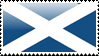 Scots Flag Stamp by xxstamps
