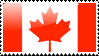 Canadian Flag Stamp by xxstamps