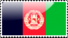 Afghan Flag Stamp by xxstamps