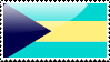 Bahamian Flag Stamp by xxstamps