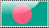 Bangladeshi Flag Stamp by xxstamps