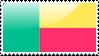 Beninois Flag Stamp by xxstamps