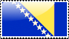 Bosnia and Herzegovina Flag by xxstamps