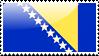Bosnia and Herzegovina Flag by xxstamps