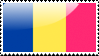 Chadian Flag Stamp by xxstamps