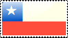 Chilean Flag Stamp by xxstamps