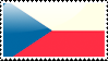 Czech Flag Stamp by xxstamps
