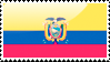 Ecuadorian Flag Stamp by xxstamps
