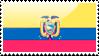 Ecuadorian Flag Stamp by xxstamps