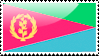 Eritrean Flag Stamp by xxstamps