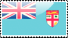 Fijian Flag Stamp by xxstamps
