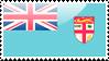 Fijian Flag Stamp by xxstamps